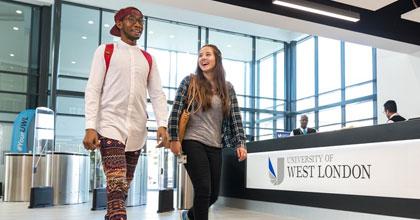 University of West London klättrar på rankingen